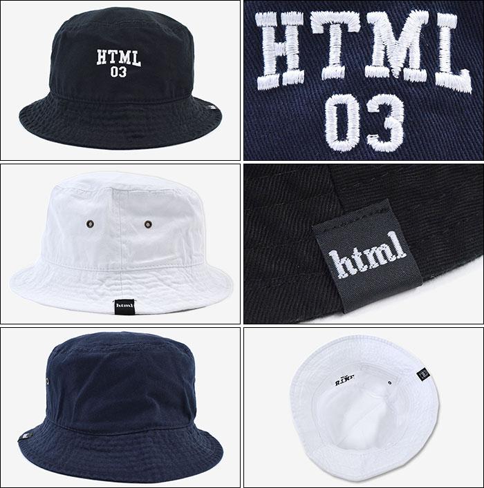 HTML ZERO3エイチティエムエル ゼロスリーのハット Powell Bucket03
