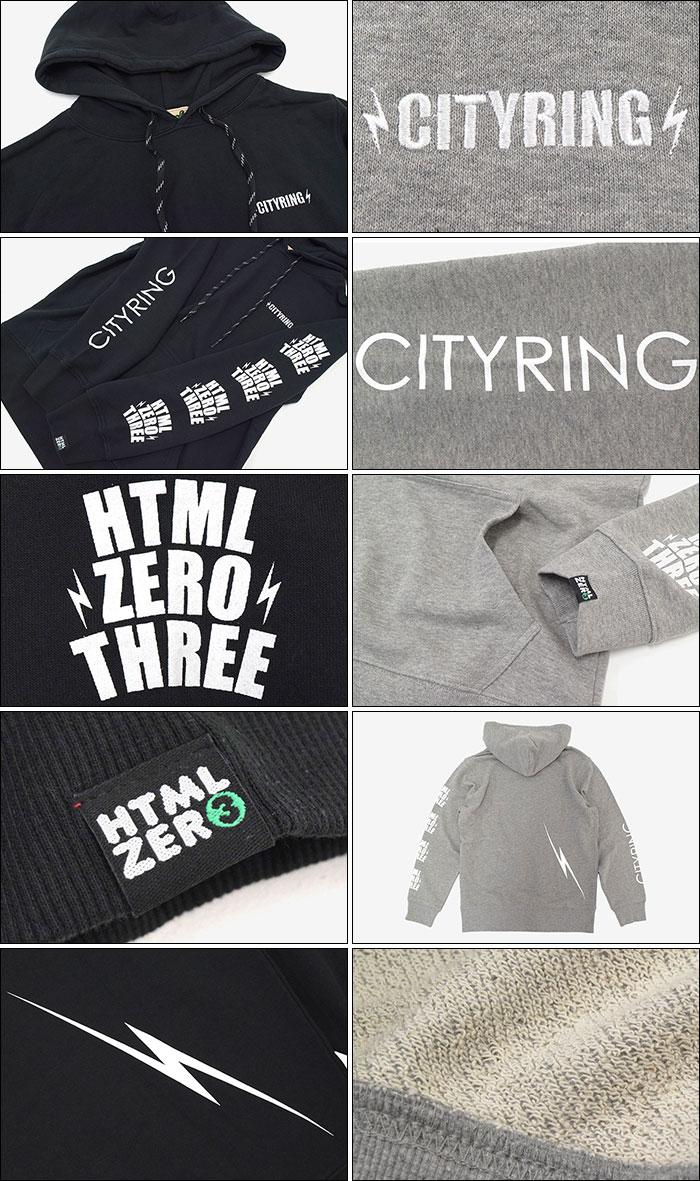 HTML ZERO3エイチティエムエル ゼロスリーのパーカー Blink Crest Pullover Hoodie10