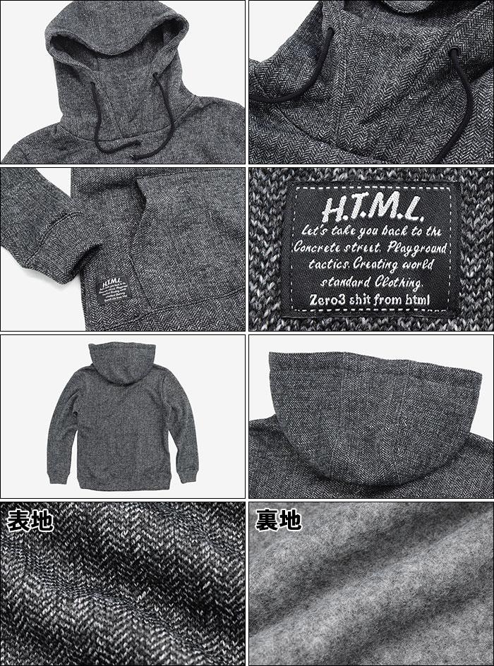 HTML ZERO3エイチティエムエル ゼロスリーのパーカー Merge Lyric Pullover Hoodie11