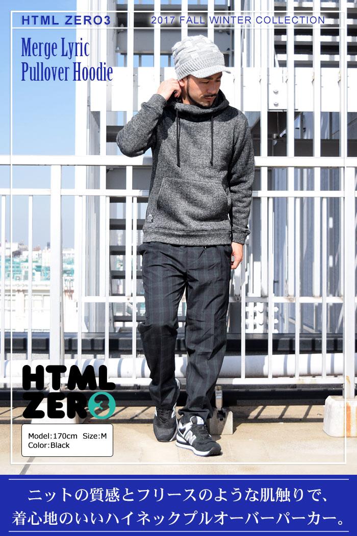 HTML ZERO3エイチティエムエル ゼロスリーのパーカー Merge Lyric Pullover Hoodie01