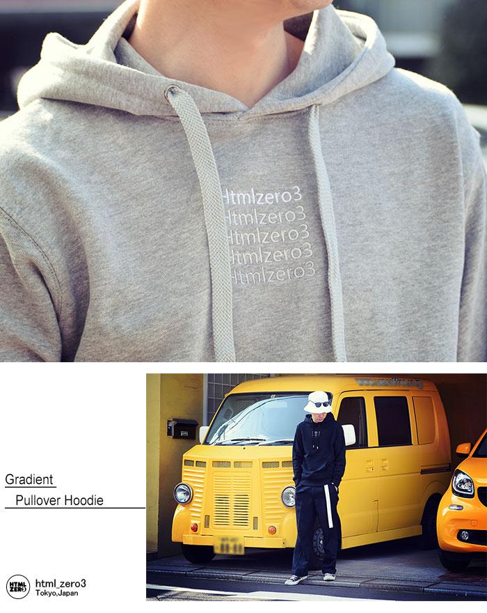 HTML ZERO3エイチティエムエル ゼロスリーのパーカー Gradient Pullover Hoodie03