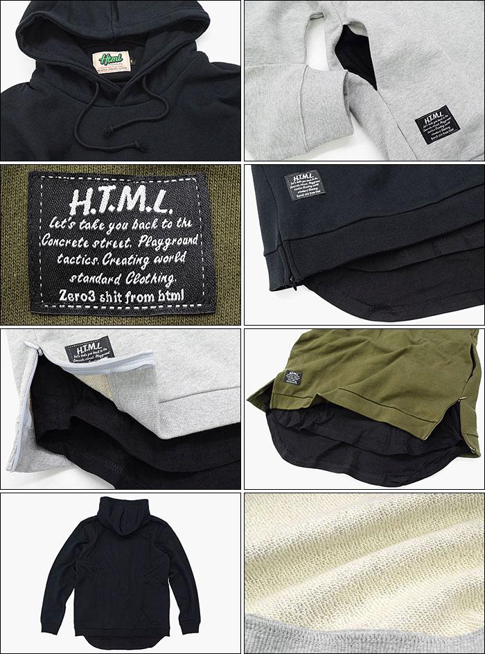 HTML ZERO3エイチティエムエル ゼロスリーのパーカー Ample Layered Big Pullover Hoodie12