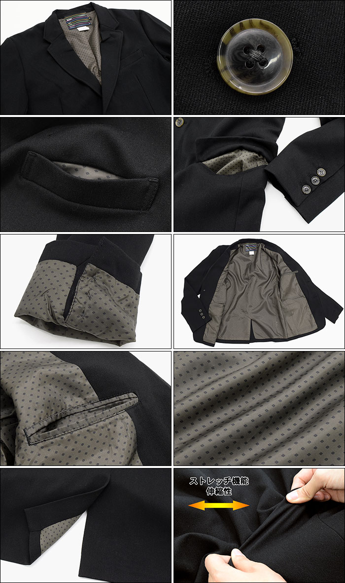 HTML ZERO3エイチティエムエル ゼロスリーのジャケット Learn Air Tailored11