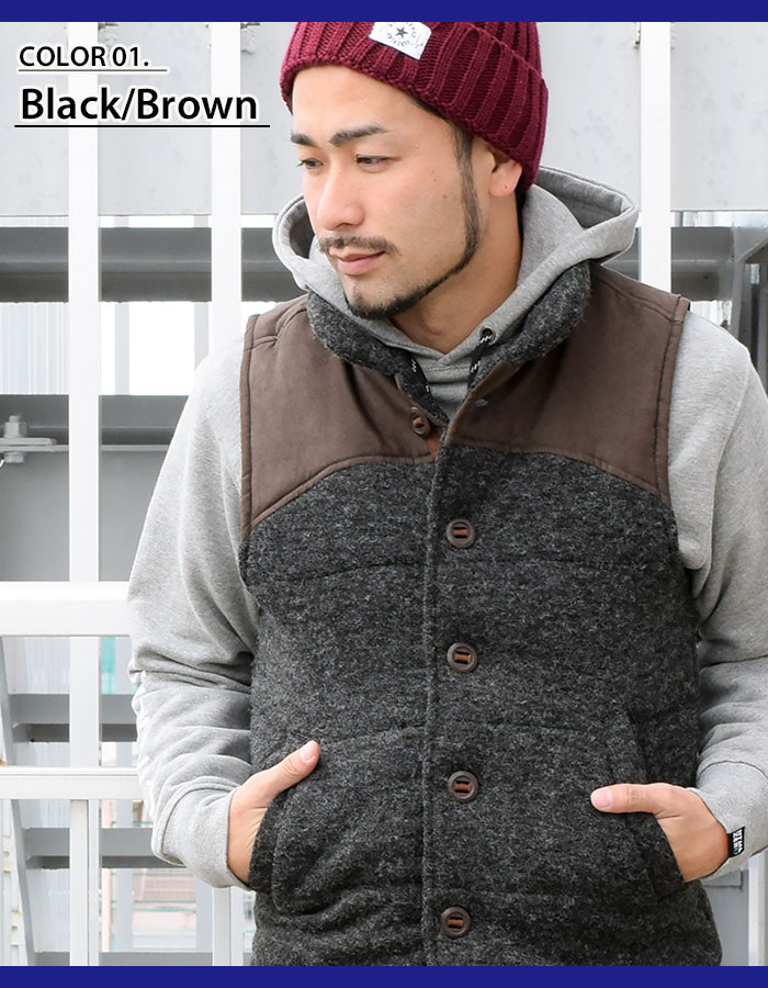 HTML ZERO3エイチティエムエル ゼロスリーのジャケット Amber Flare Vest03