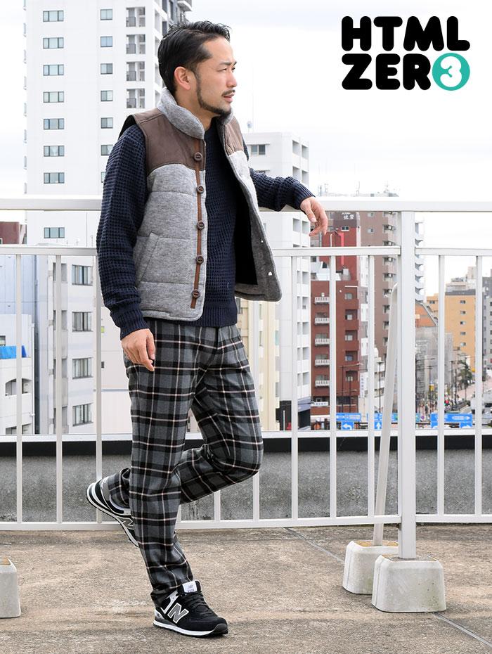 HTML ZERO3エイチティエムエル ゼロスリーのジャケット Amber Flare Vest08