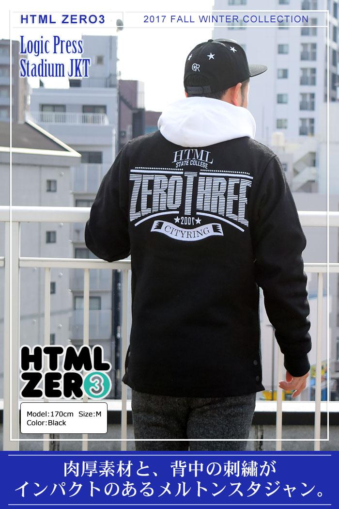 HTML ZERO3エイチティエムエル ゼロスリーのジャケット Logic Press Stadium01