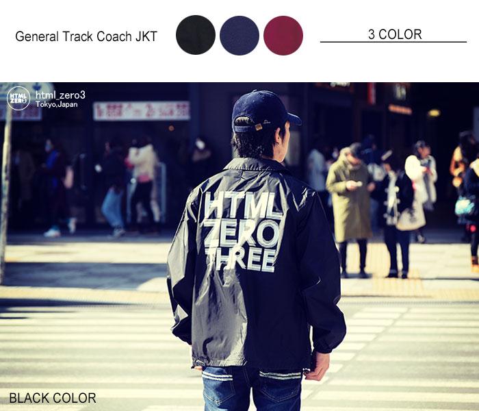 HTML ZERO3エイチティエムエル ゼロスリーのジャケット General Track Coach JKT06