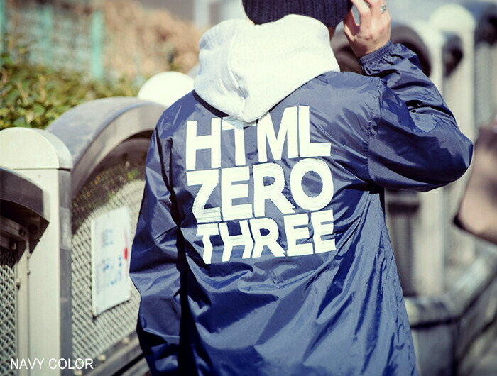 HTML ZERO3エイチティエムエル ゼロスリーのジャケット General Track Coach JKT08