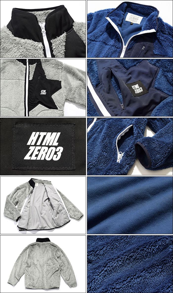 HTML ZERO3エイチティエムエル ゼロスリーのジャケット Alpinist Fleece12