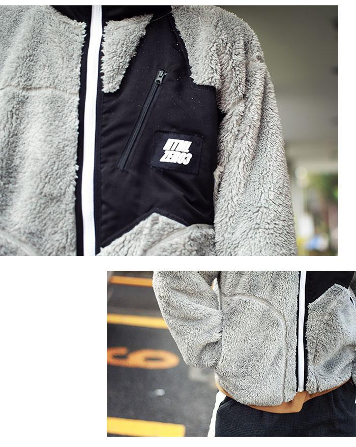 HTML ZERO3エイチティエムエル ゼロスリーのジャケット Alpinist Fleece03