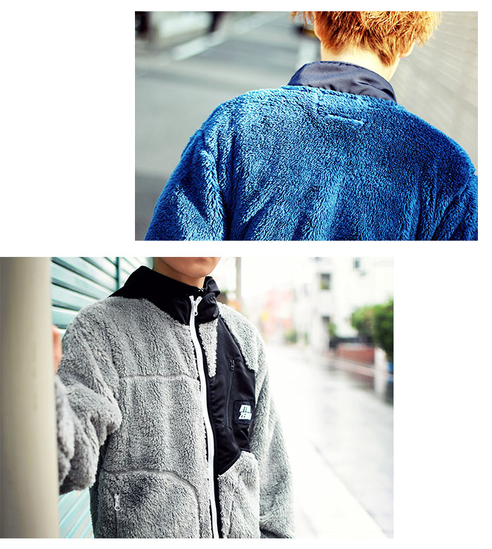HTML ZERO3エイチティエムエル ゼロスリーのジャケット Alpinist Fleece08