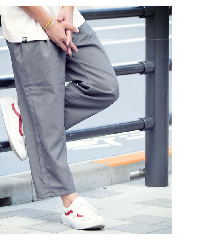 HTML ZERO3エイチティエムエル ゼロスリーのパンツ Cloudy Ankle Cut Wide Pant02