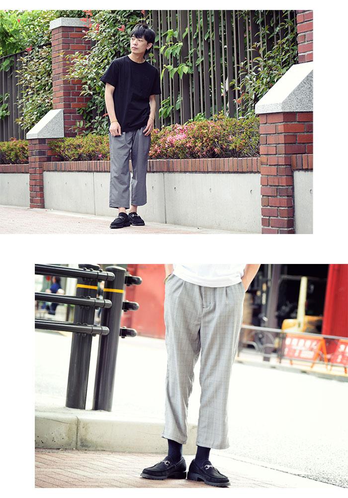 HTML ZERO3エイチティエムエル ゼロスリーのパンツ Cloudy Ankle Cut Wide Pant08