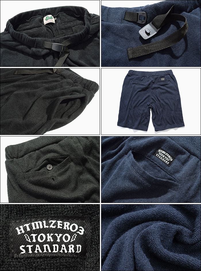 HTML ZERO3エイチティエムエル ゼロスリーのハーフパンツ Global Cord Short Pant11