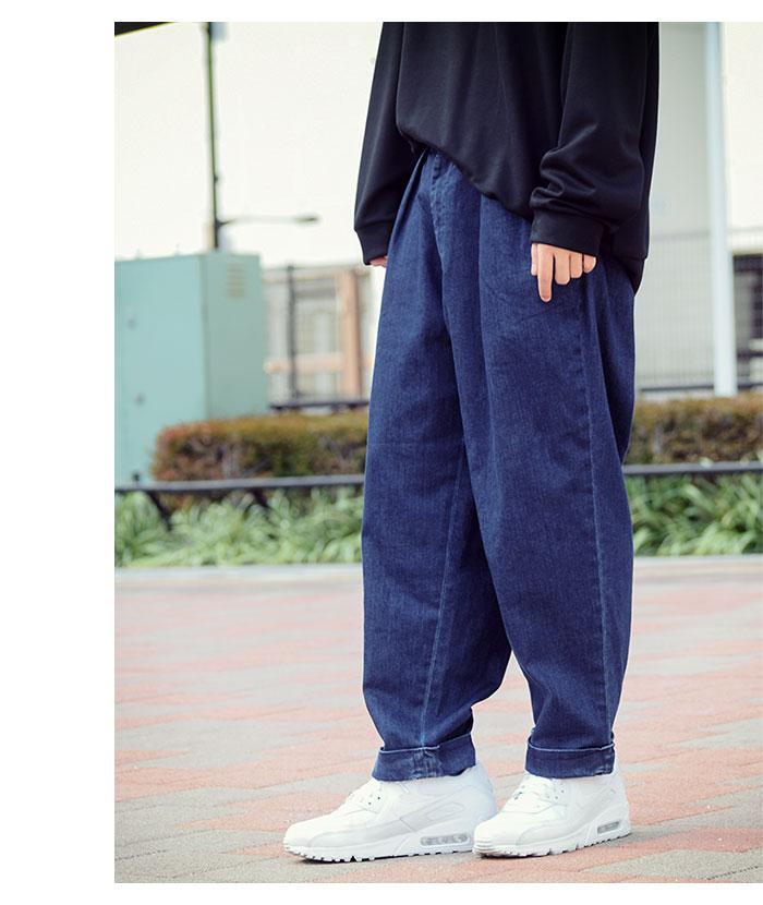 HTML ZERO3エイチティエムエル ゼロスリーのパンツ Comfort Wide Denim Pant01