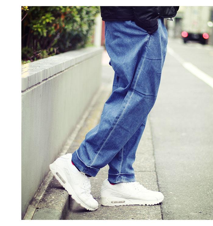 HTML ZERO3エイチティエムエル ゼロスリーのパンツ Comfort Wide Denim Pant03