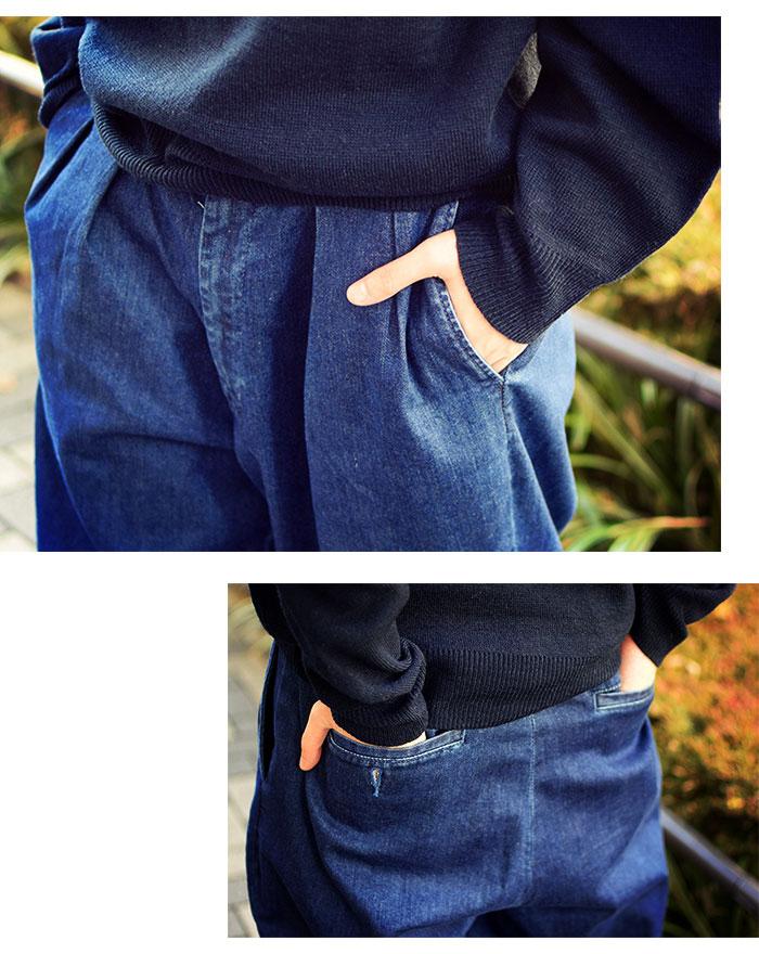 HTML ZERO3エイチティエムエル ゼロスリーのパンツ Comfort Wide Denim Pant04