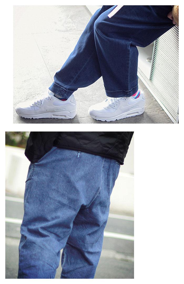 HTML ZERO3エイチティエムエル ゼロスリーのパンツ Comfort Wide Denim Pant06