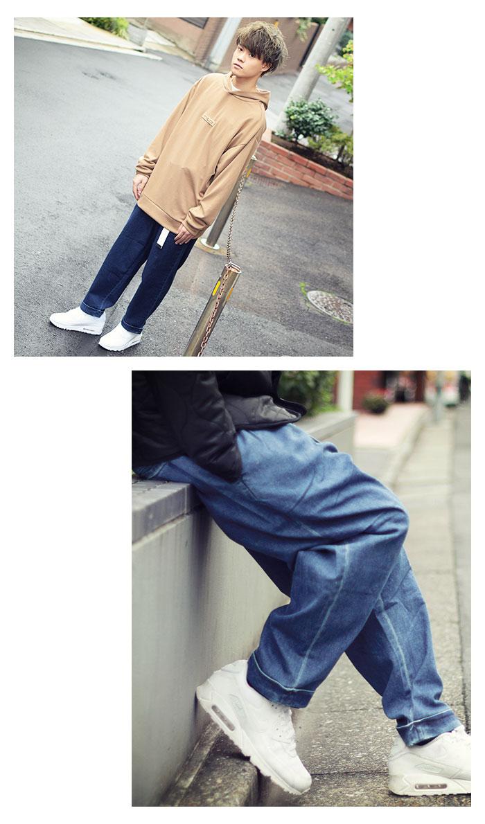 HTML ZERO3エイチティエムエル ゼロスリーのパンツ Comfort Wide Denim Pant08