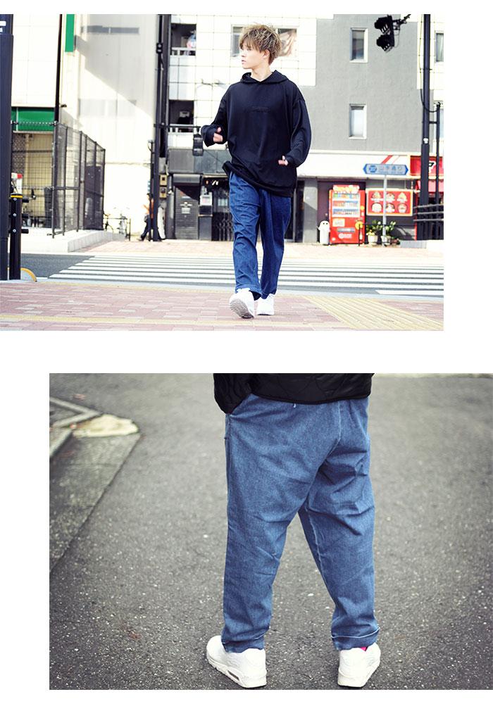 HTML ZERO3エイチティエムエル ゼロスリーのパンツ Comfort Wide Denim Pant09