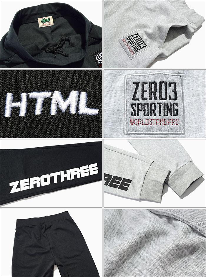 HTML ZERO3エイチティエムエル ゼロスリーのパンツ Gymnasium Dry Sweat Pant12