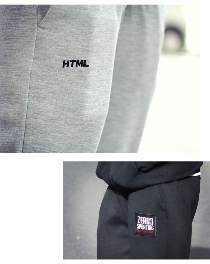 HTML ZERO3エイチティエムエル ゼロスリーのパンツ Gymnasium Dry Sweat Pant04