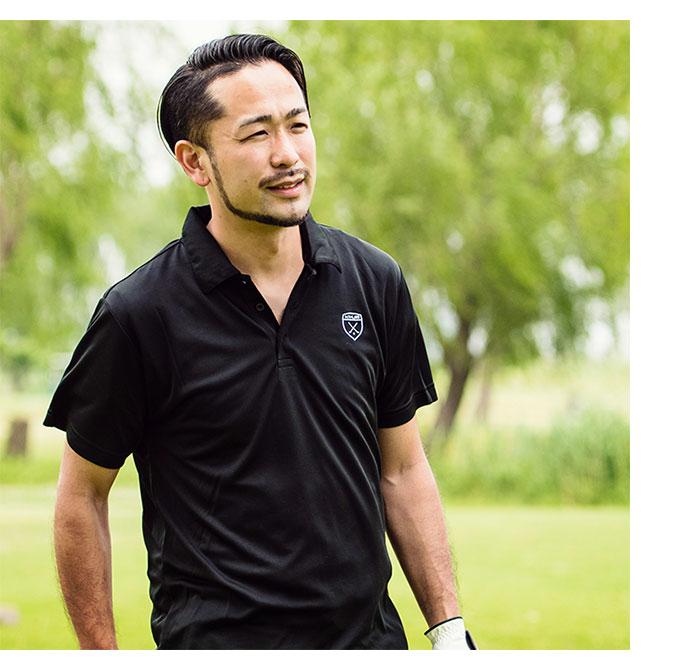 HTML ZERO3エイチティエムエル ゼロスリーのポロシャツ Golfers Polo01