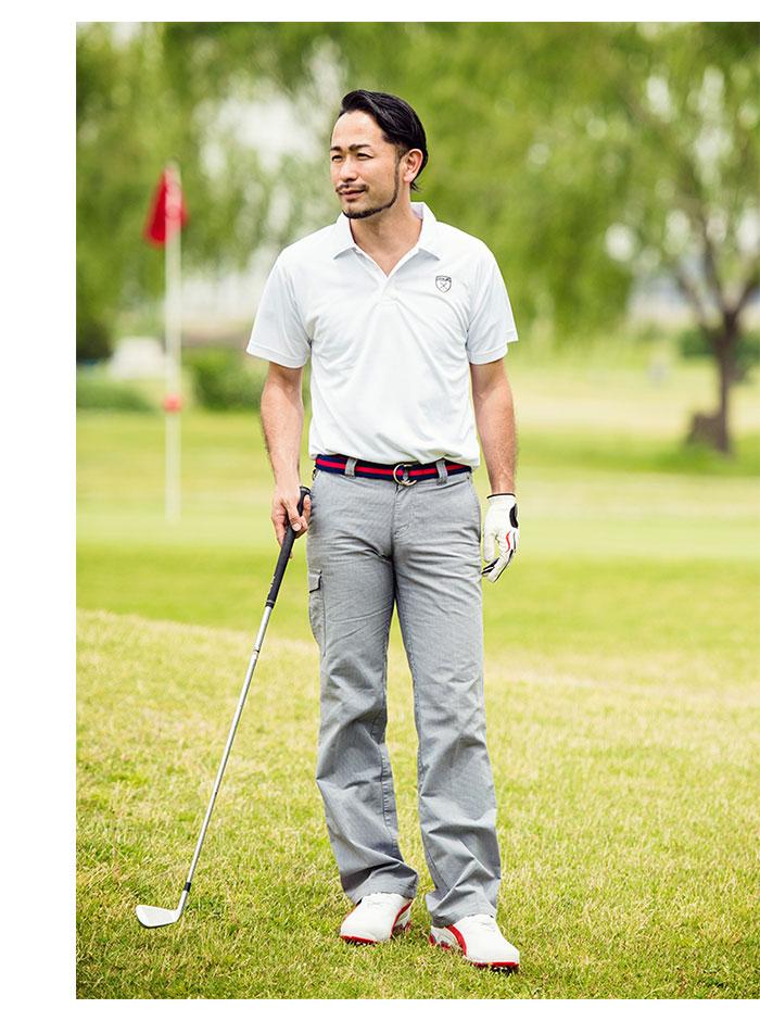 HTML ZERO3エイチティエムエル ゼロスリーのポロシャツ Golfers Polo02