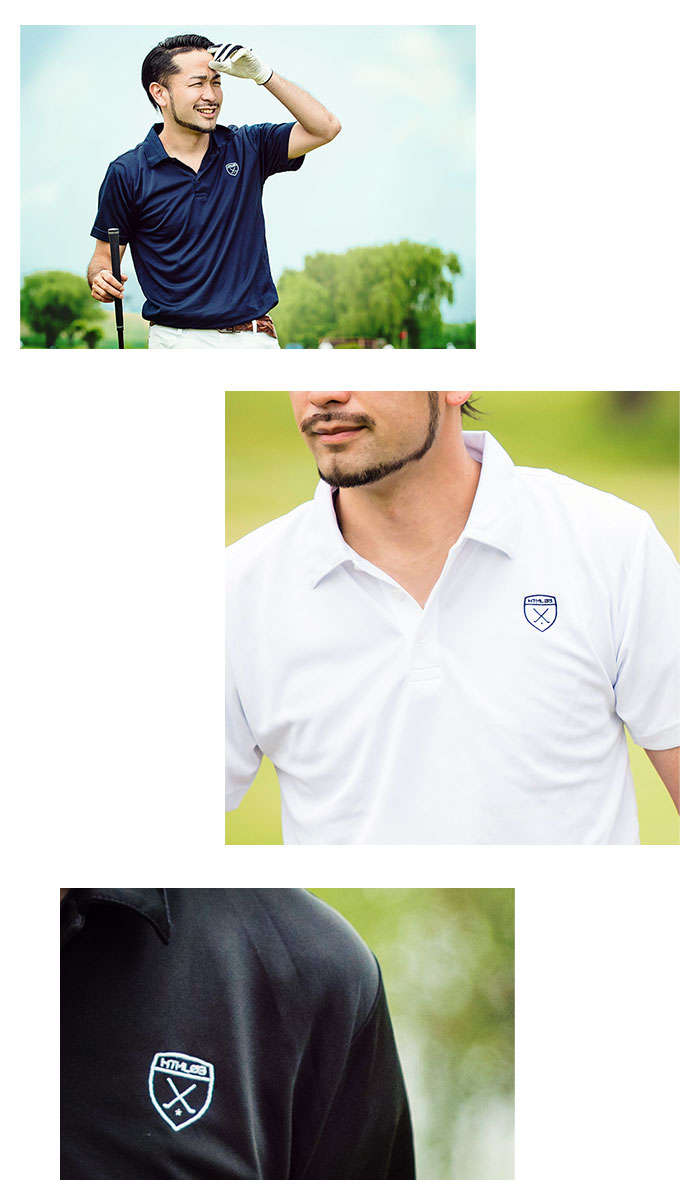 HTML ZERO3エイチティエムエル ゼロスリーのポロシャツ Golfers Polo03