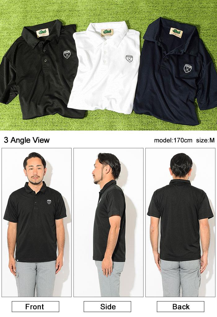 HTML ZERO3エイチティエムエル ゼロスリーのポロシャツ Golfers Polo09