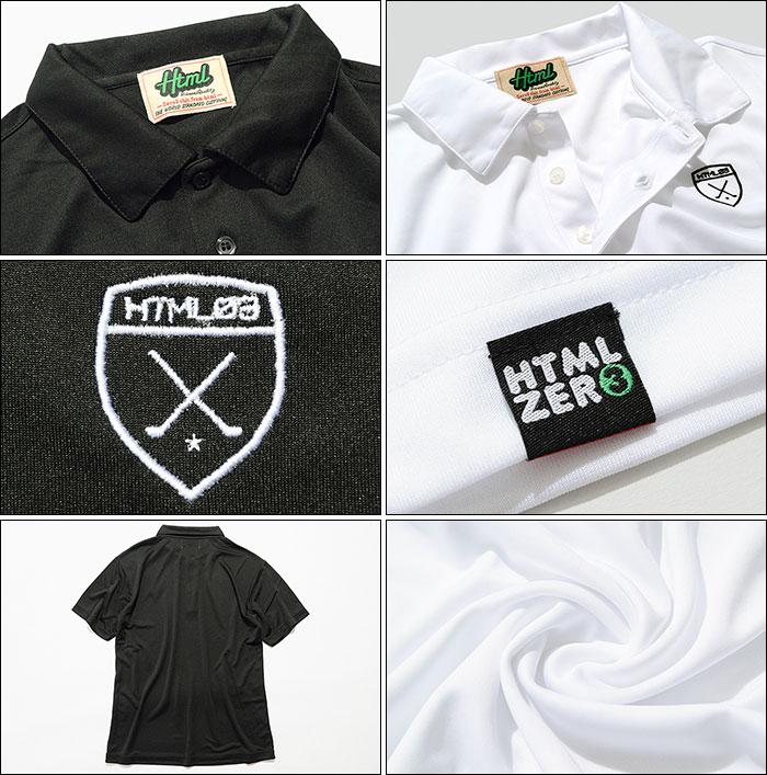 HTML ZERO3エイチティエムエル ゼロスリーのポロシャツ Golfers Polo10