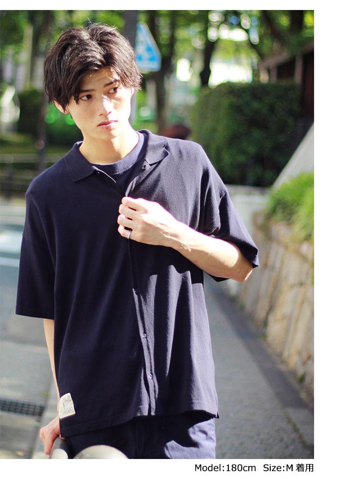HTML ZERO3エイチティエムエル ゼロスリーのシャツ Strategist S/S Knit Shirt01