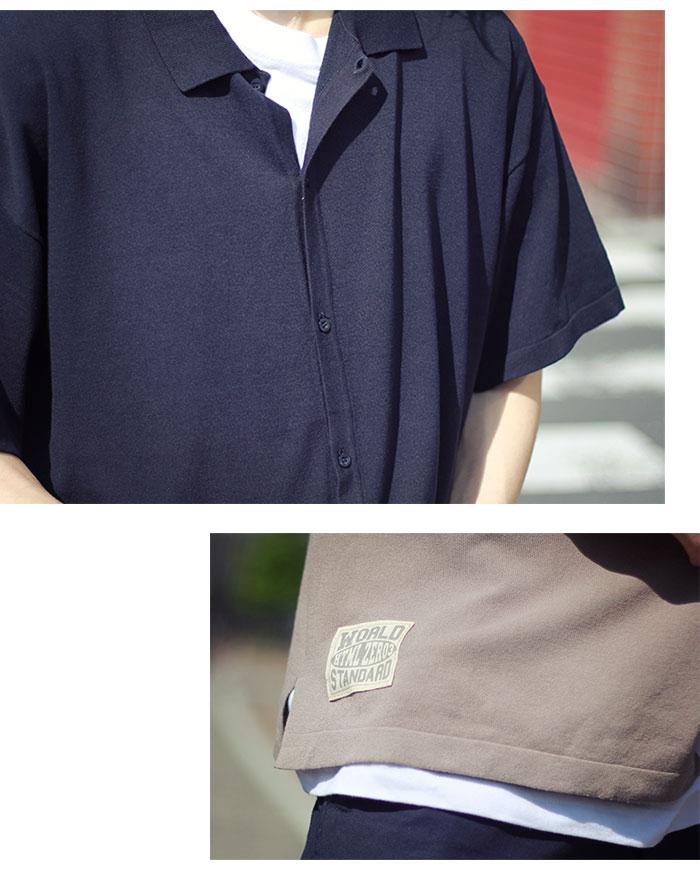 HTML ZERO3エイチティエムエル ゼロスリーのシャツ Strategist S/S Knit Shirt03