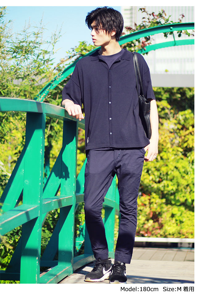 HTML ZERO3エイチティエムエル ゼロスリーのシャツ Strategist S/S Knit Shirt04