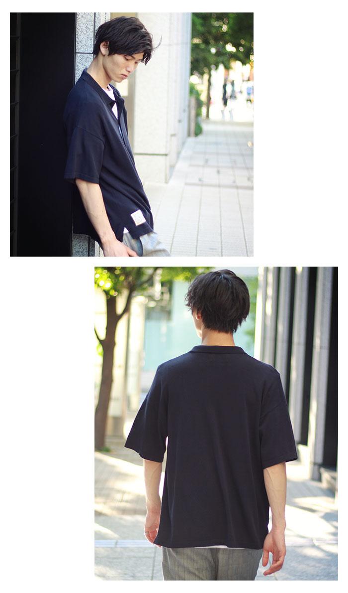 HTML ZERO3エイチティエムエル ゼロスリーのシャツ Strategist S/S Knit Shirt06
