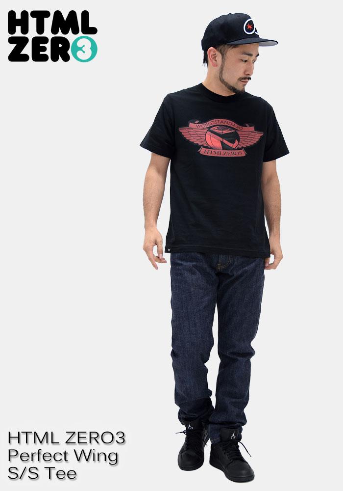 HTML ZERO3エイチティエムエル ゼロスリーのTシャツ Perfect Wing08