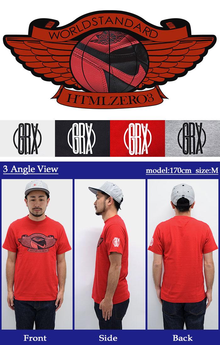 HTML ZERO3エイチティエムエル ゼロスリーのTシャツ Perfect Wing09