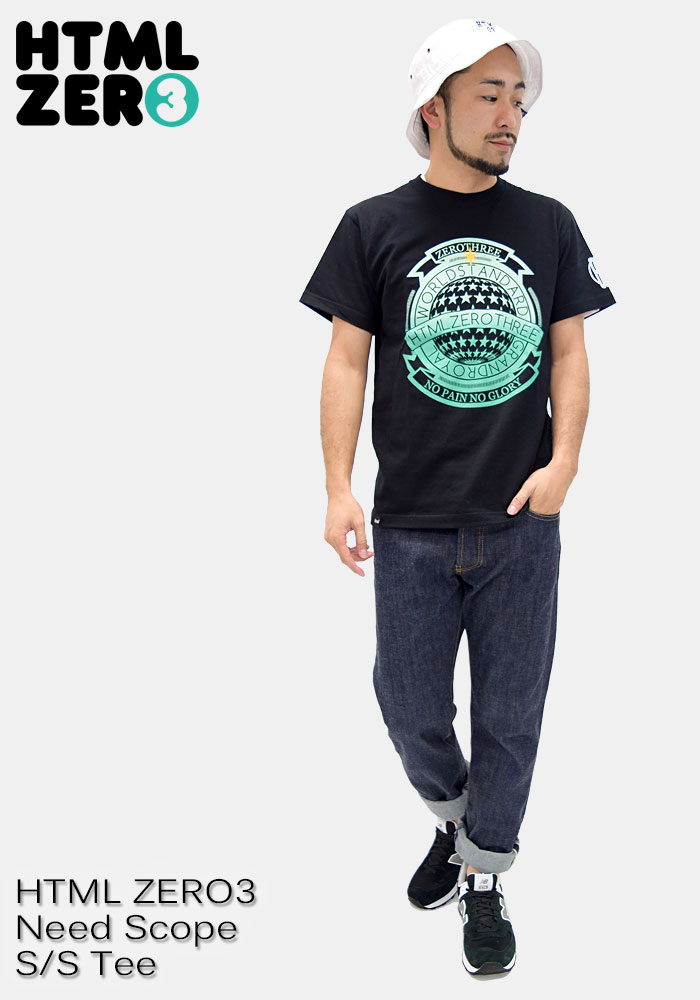 HTML ZERO3エイチティエムエル ゼロスリーのTシャツ Need Scope06