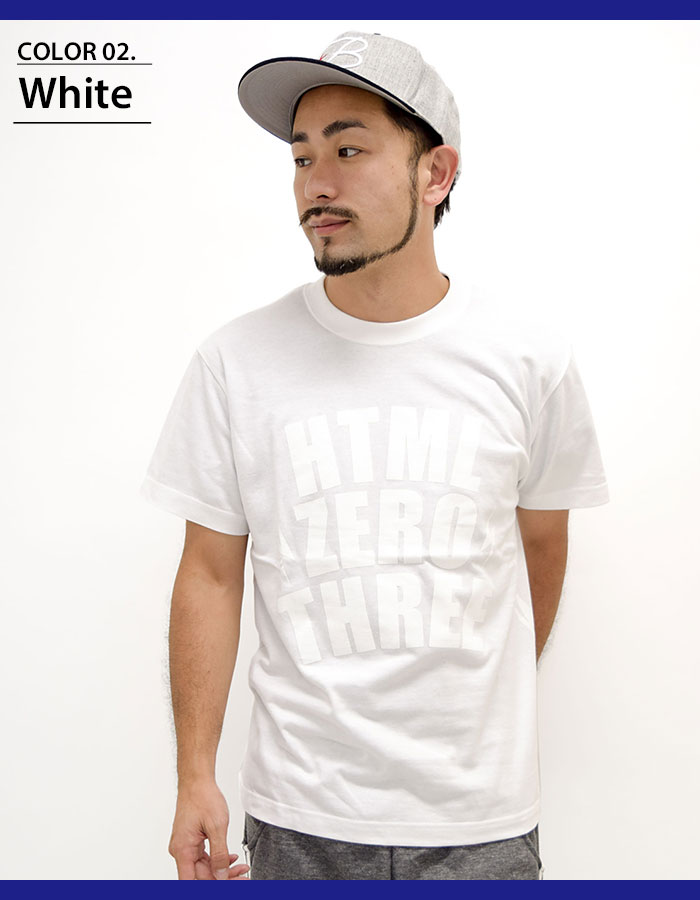 HTML ZERO3エイチティエムエル ゼロスリーのTシャツ Blink Yard04