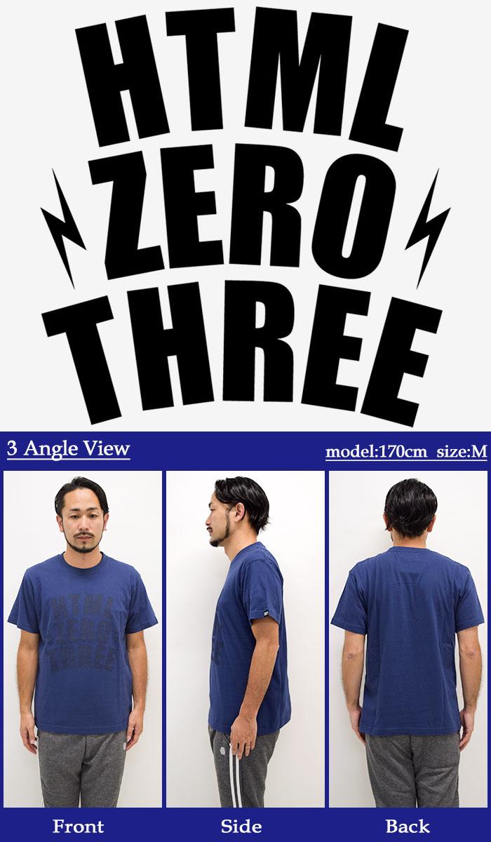 HTML ZERO3エイチティエムエル ゼロスリーのTシャツ Blink Yard09