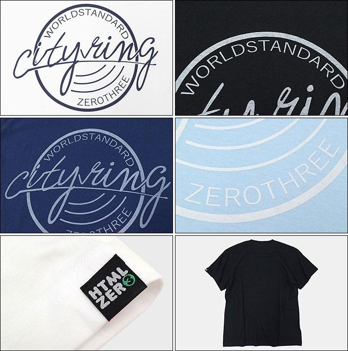 HTML ZERO3エイチティエムエル ゼロスリーのTシャツ City Ring10
