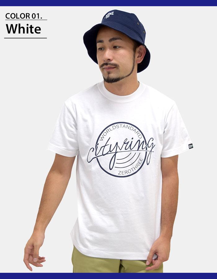 HTML ZERO3エイチティエムエル ゼロスリーのTシャツ City Ring03