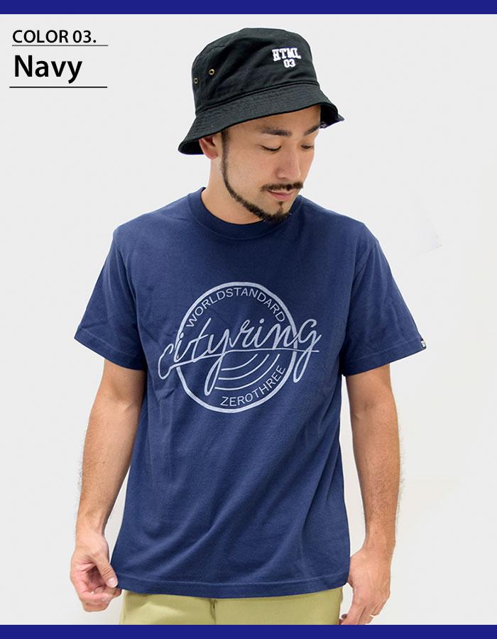 HTML ZERO3エイチティエムエル ゼロスリーのTシャツ City Ring05