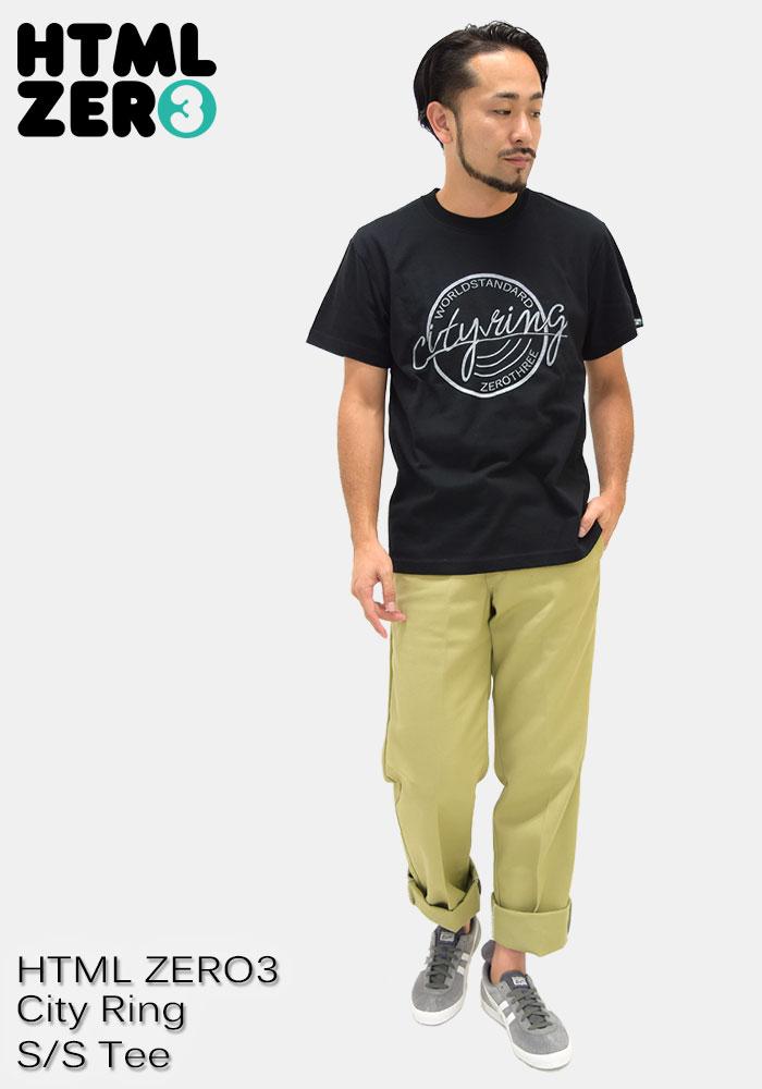 HTML ZERO3エイチティエムエル ゼロスリーのTシャツ City Ring08