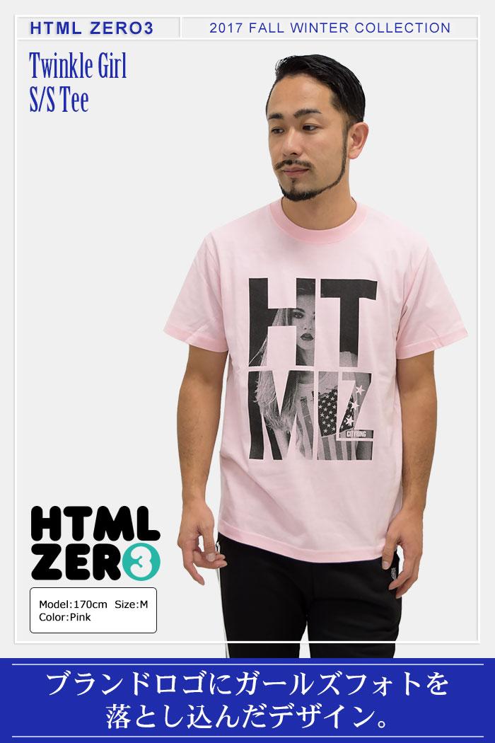 HTML ZERO3エイチティエムエル ゼロスリーのTシャツ Twinkle Girl01