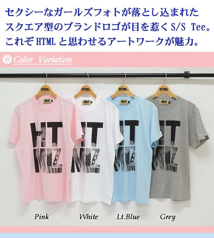 HTML ZERO3エイチティエムエル ゼロスリーのTシャツ Twinkle Girl02