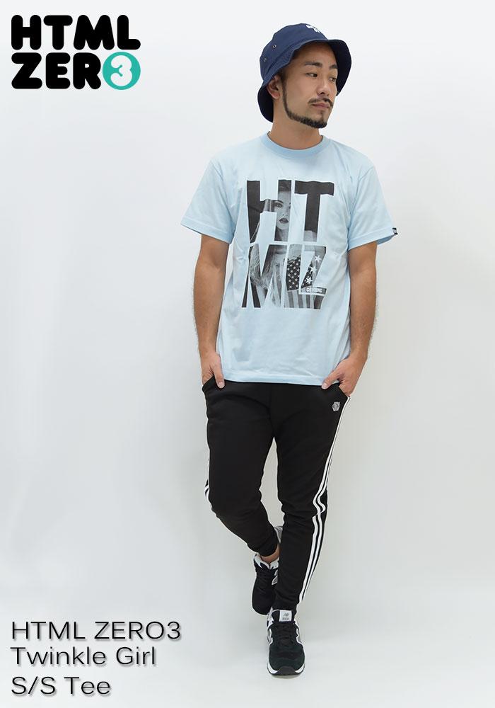 HTML ZERO3エイチティエムエル ゼロスリーのTシャツ Twinkle Girl07