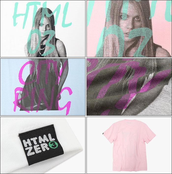 HTML ZERO3エイチティエムエル ゼロスリーのTシャツ Grace Girl10