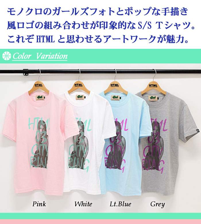 HTML ZERO3エイチティエムエル ゼロスリーのTシャツ Grace Girl02