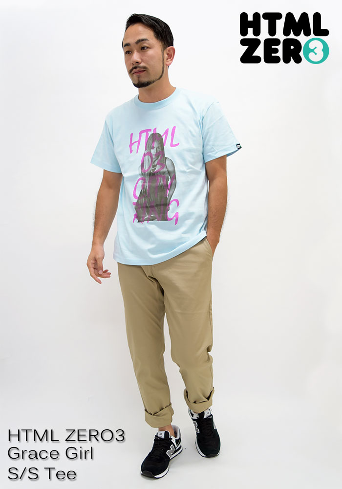 HTML ZERO3エイチティエムエル ゼロスリーのTシャツ Grace Girl07